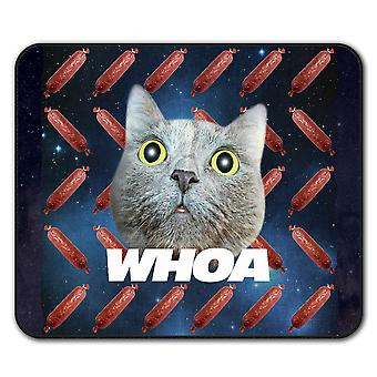 High Drug Space Funny  Non-Slip Mouse Mat Pad 24cm x 20cm | Wellcoda