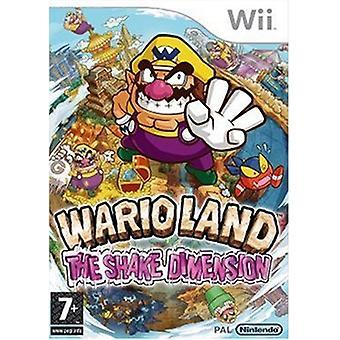Wario land de schok dimensie (Wii)-nieuw