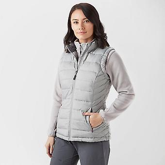 New Peter Storm Women's Crew Neck Full Zip Light Gilet Grey
