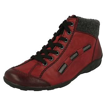 Damen Rieker Fleece gefütterte Ankle Boots L6543