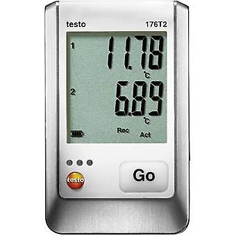 testo 176 T2 Temperature data logger Unit of measurement Temperature -50 up to +400 °C
