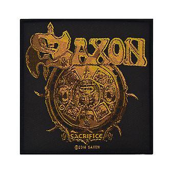 Saxon Sacrifice Woven Patch