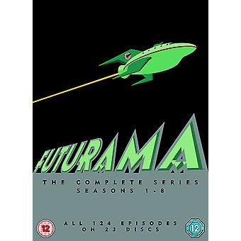 Futurama - Staffel 1-8-DVD-Box-Set