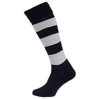 Apto Mens Hooped Football Socks