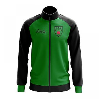 Bangladesch-Konzept Fußball Track Jacket (grün)