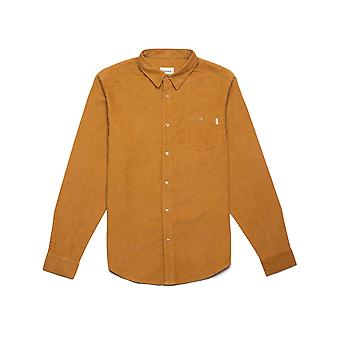 Rhythm Corduroy Long Sleeve Shirt in Turneric