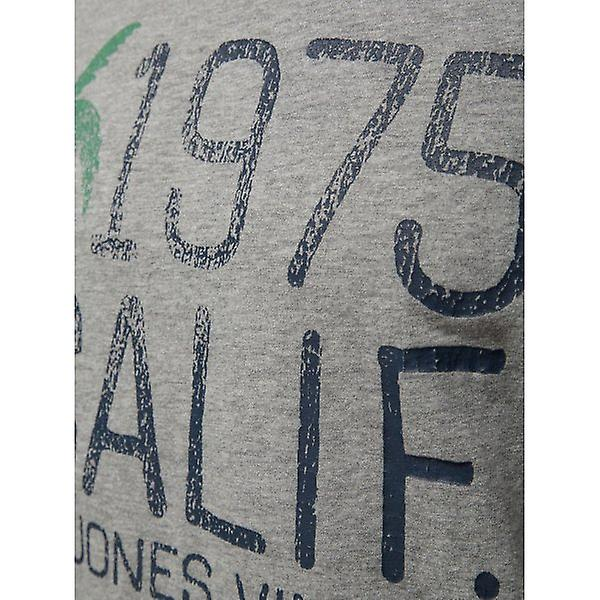 Jack & Jones Vintage T-shirt Big Wave Tee Light Grey Melange
