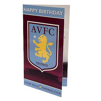 Aston Villa FC Birthday Card