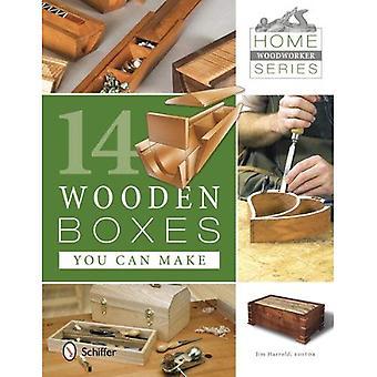 Accueil ébéniste série: 14 boîtes en bois vous pouvez faire