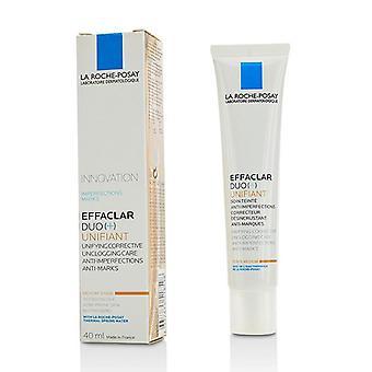 La Roche Posay Effaclar Duo (яп. ) Объединительный Объединяющий Корректирующий Unclogging Care Anti-несовершенства Анти-несовершенства - Средний - 40ml/1.35oz