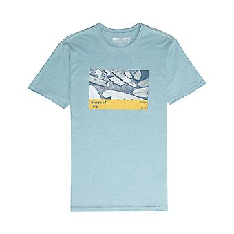 Billabong Dynamics korte mouwen T-shirt in Aqua blauw