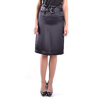 Céline Ezbc064011 Women's Black Viscose Skirt