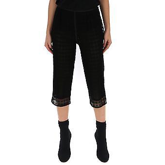 Marc Jacobs Black Cotton Pants