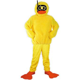 Orion Costumes Unisex Giant Yellow Bath Duck Stag Do Funny Novelty Fancy Dress