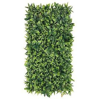 Artificial Lush Green Leaf Wall Panel