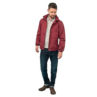 Lighthouse Portland Mens Jacket Bordeaux
