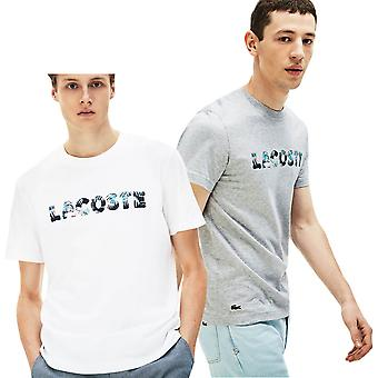 Lacoste mens Jersey Graphic T-shirt
