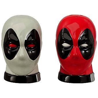 Marvel Deadpool Salt & Pepper Set