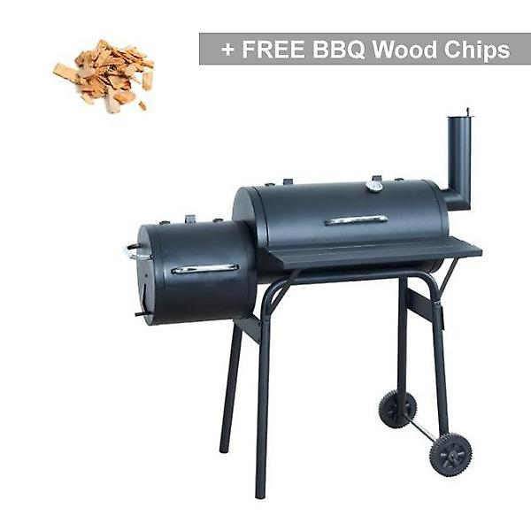 Callow Ovens Smoker Offset Pit Charcoal BBQ Grill
