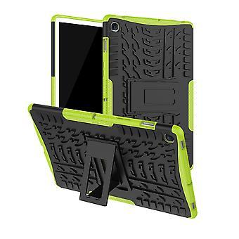 For Samsung Galaxy Tab S5e 10,5 T720F hybrid utendørs tilfelle grønn pose deksel
