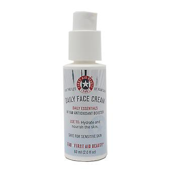 First Aid Beauty Daily Face Cream Daily Essentials W/Fab Antioxidant Booster 2oz