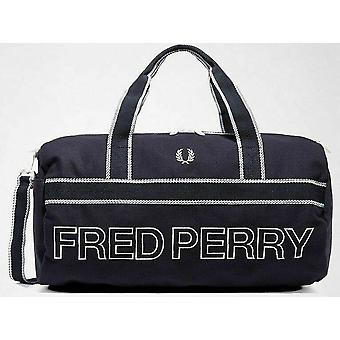 Fred Perry Sports Duffel Bag - L2206-608 - Navy