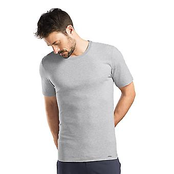 Hanro Mens Sleep & Lounge Living Leisure S/SLV Shirt Grey