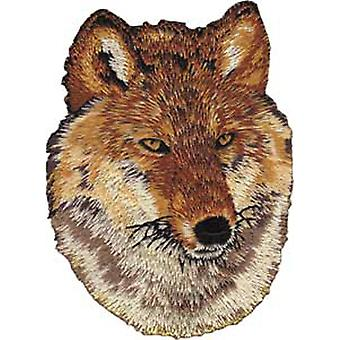 Patch - Animals - Red Wolf Iron On Gifts New Licensed p-3969