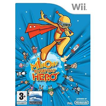 Minon Everyday Hero (Wii) - Factory Sealed