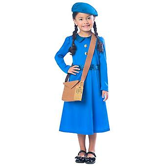 Amscan Blue Orphan Girl Costume (Babies and Children , Costumes)