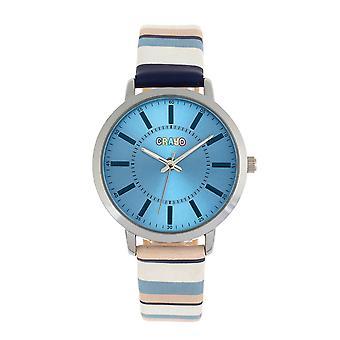 Crayo Swing Unisex Watch - Blue