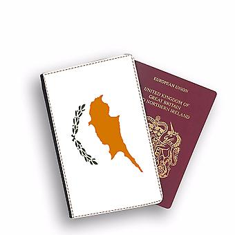 CYPRUS Flag Passport Holder Style Case Cover Protective Wallet Flags design