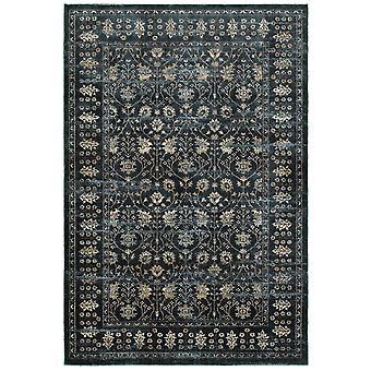 Empire 501l4 navy/ ivory area rug (6' 7
