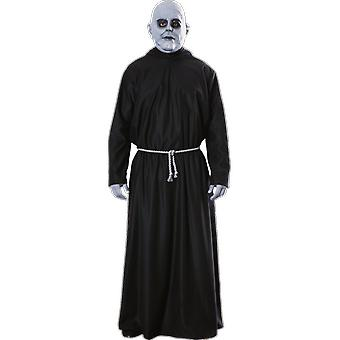 Mens Uncle Fester Addams Family Halloween 60s Film & TV Fancy Dress Costume