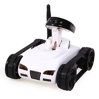 Radio controlled tank with camera-white