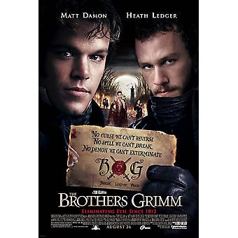 The Brothers Grimm (Double Sided Regular Style E) (2005) Original Kinoplakat