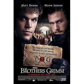De gebroeders Grimm (dubbelzijdig regelmatige stijl E) (2005) originele Cinema poster