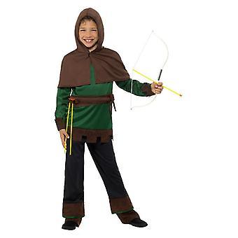 Garçons Robin des bois Archer médiéval costumé
