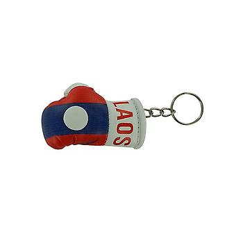 Cle Cles Key Flag Laos Boxing Glove Flag
