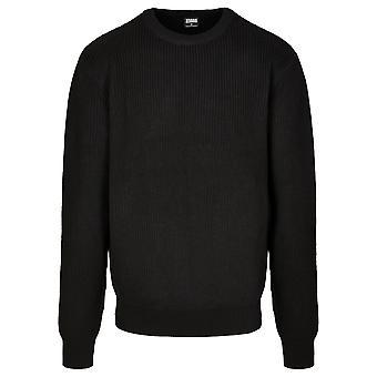 Urban Classics Uomo Maglione A maglia Cardigan Stitch