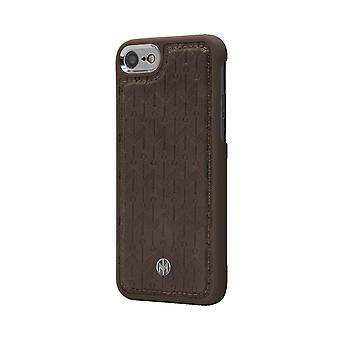 Marvêlle iPhone 6/6s/7/8 Magnetic Case Dark Brown Signature