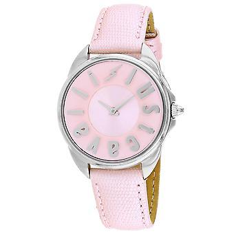 Just Cavalli Women's Logo Pink Dial Watch - JC1L008L0035