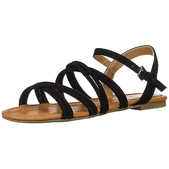 Report Womens Gal Open Toe Casual Ankle Strap Sandals