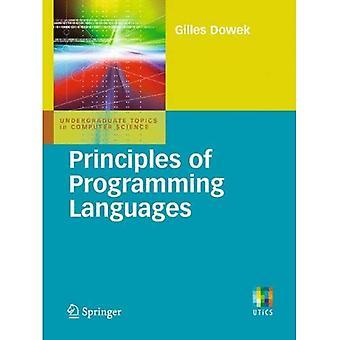 Principles of Programming Languages (Undergraduate Topics in Computer Science)