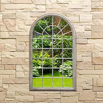 Charles Bentley Arch Outdoor Wall Dekorative Spiegel-Natürlich