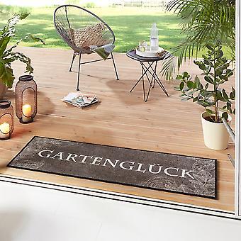 Washable kitchen runner Garden Happiness Grey 50x150 cm