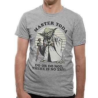 Star Wars Unisex aikuiset Yoda do T-paita