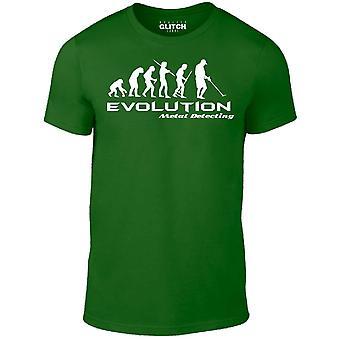 Män ' s utveckling av en metalldetektor t-shirt