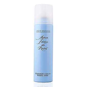 Spray Deodorant Agua Fresca De Rosas Adolfo Dominguez (150 ml)