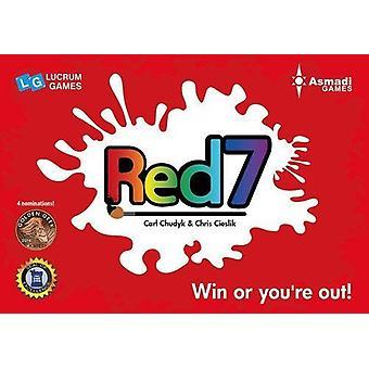 Rød 7 kortspil